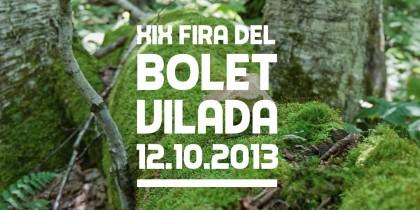 Fira del bolet de Vilada 2013