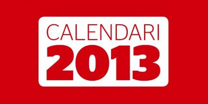 Calendari Berga 2013