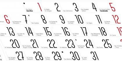 Calendari Berga 2014 – Fons JOSEP M.CASALS 'CASALETS'