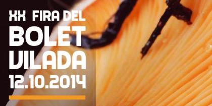 Fira del bolet de Vilada 2014