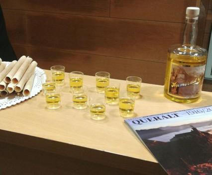 Aromes de Queralt per celebrar la inauguració de l'exposició