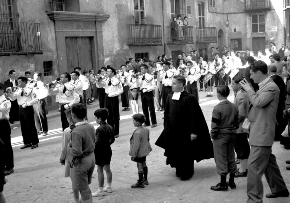 1952a festa La Salle a Queralt_©Arxiu Luigi_Berga_Autor_ Climent Escobet Farguell__ (Medium)