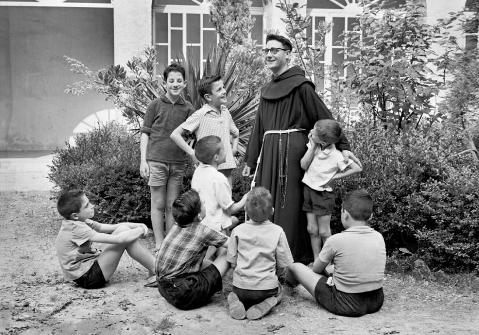 1961 claustre Sant Francesc__©Arxiu Luigi_Berga_Autor_ Climent Escobet Farguell_ (Medium)